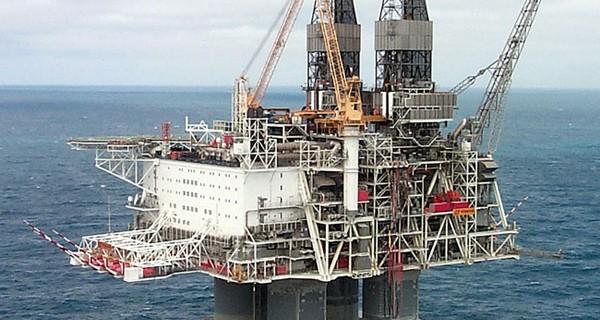Hibernia Oil Platform